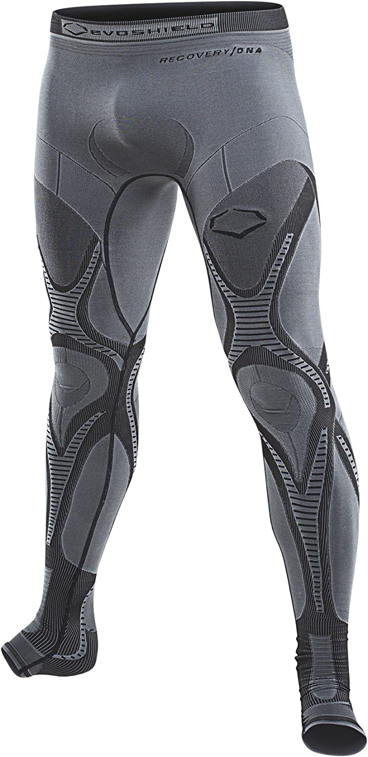Evoshield Men/'s X-Large Compression Tights White Active DNA Recovery Warm XL