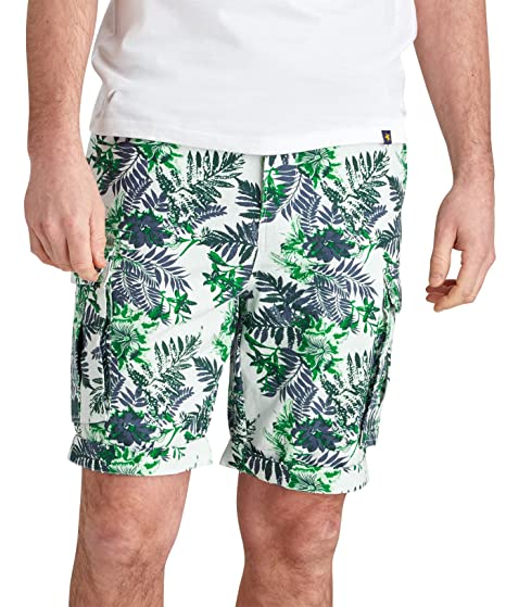 a814ff5c812 Joe Browns Men s Tropical Vibe Shorts (32) White