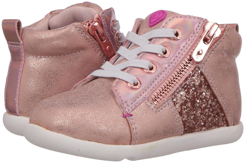 Step /& Stride Kids Girls Zoe Glitter High Top Sneaker