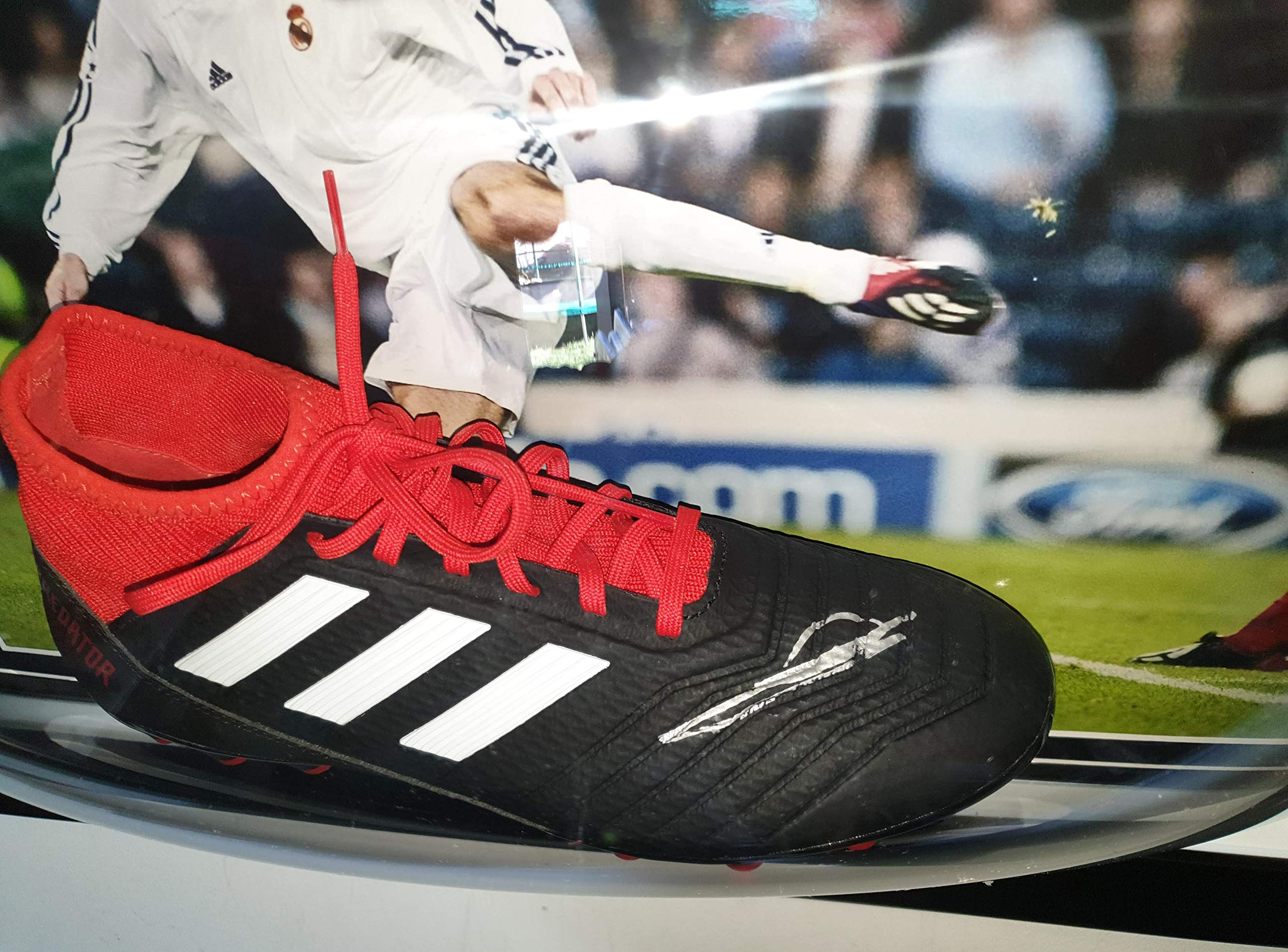 Real Madrid Signed Football Boot