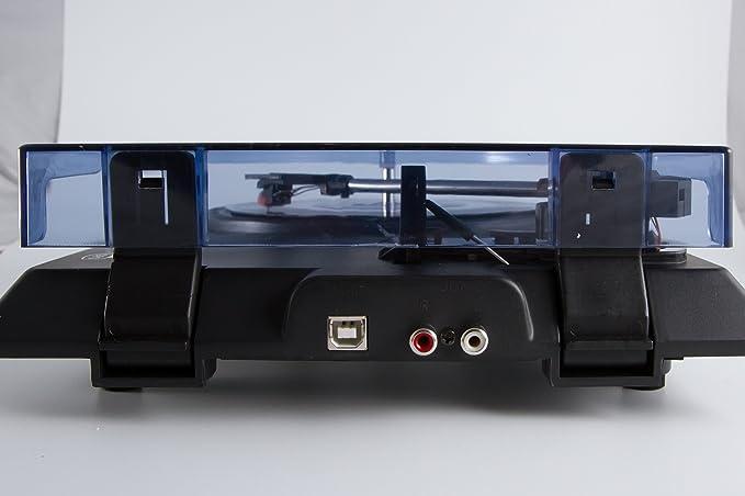 Amazon.com: Protelx GPO M15 portátil USB Tocadiscos estéreo ...