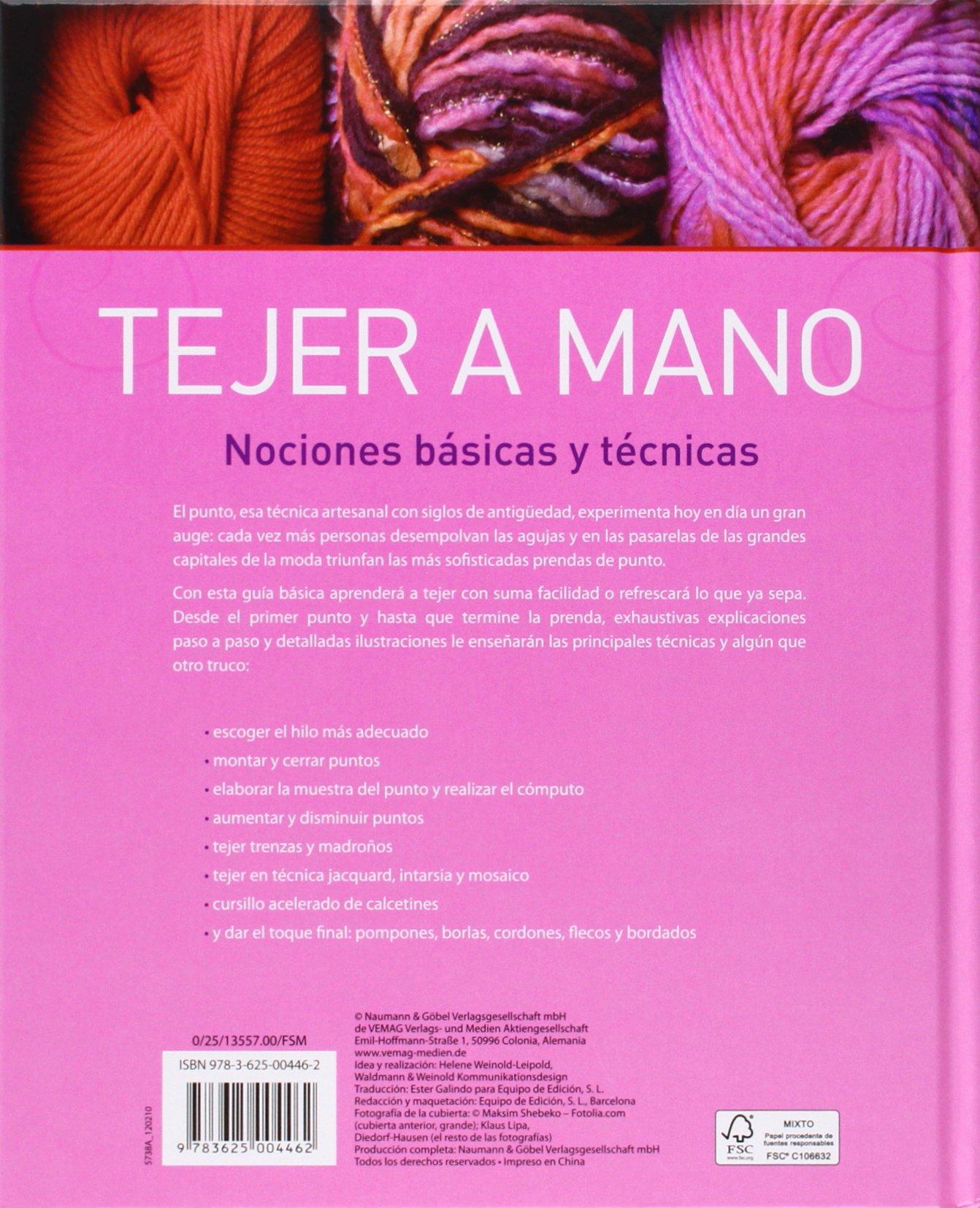TEJER A MANO - NGV - NUEVA EDIC.: Varios: 9783625004462: Amazon.com: Books
