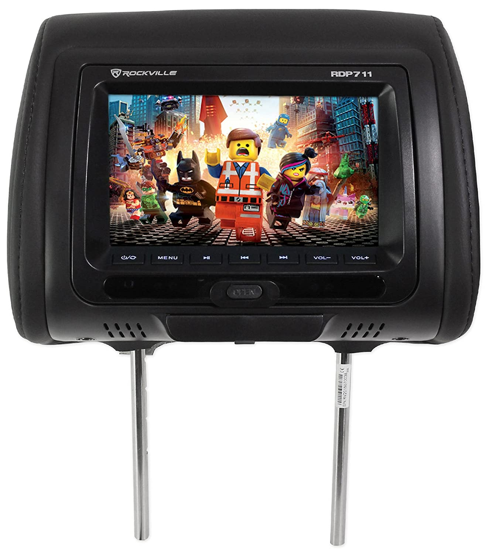 Rockville Flip Down Monitor Wiring Diagram Libraries Amazon Com Rdp711 Bk 7u201d Black Car Headrest Monitors W Dvd