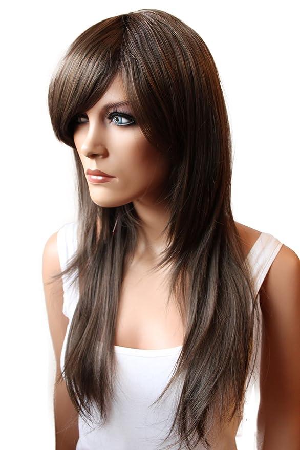 Opinioni per PRETTYSHOP unisex parrucca capelli lunghi fibra 45ec2c6e289a