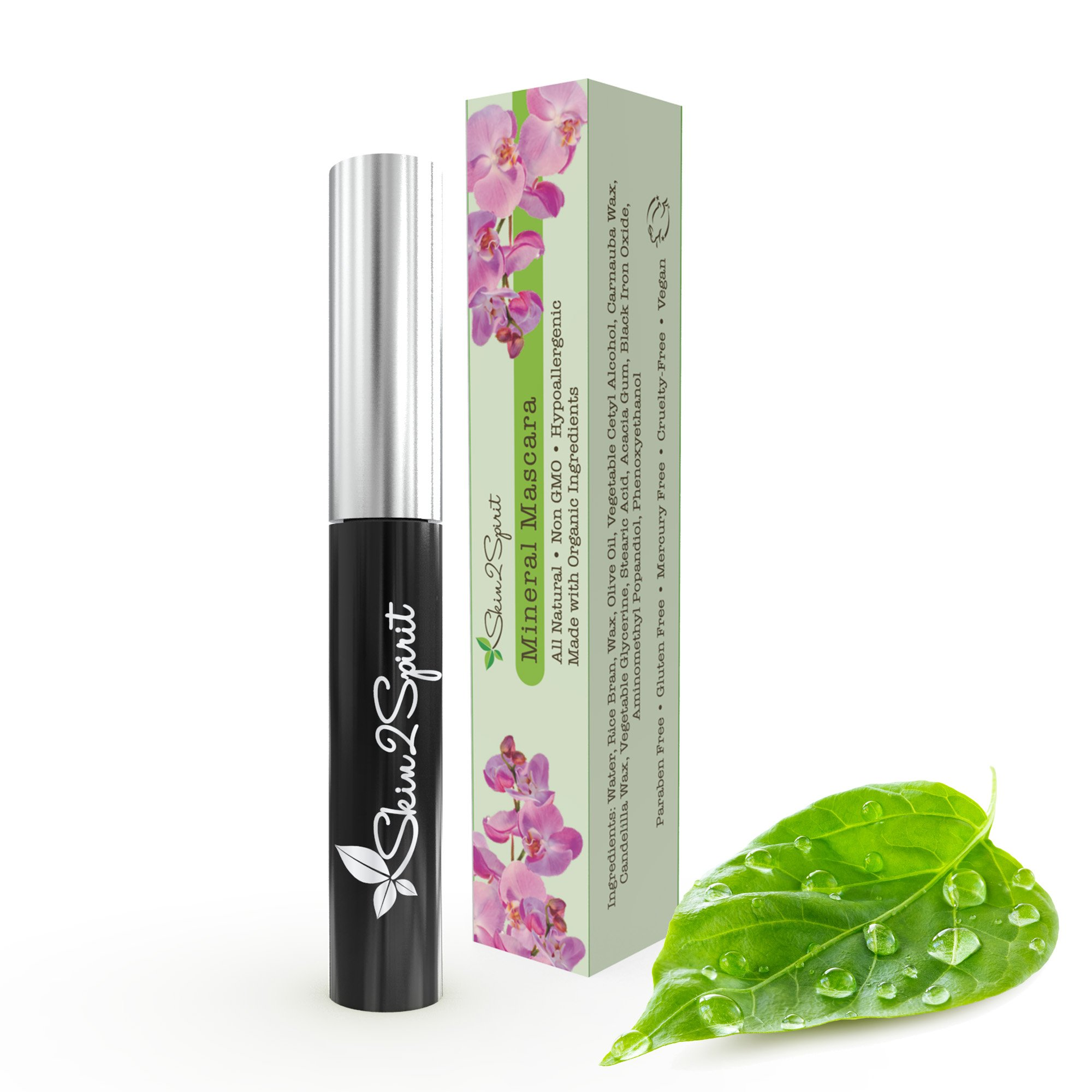 5b5c1e1eaed Amazon.com : Natural Mineral Mascara | Made w Organic Ingredients ...