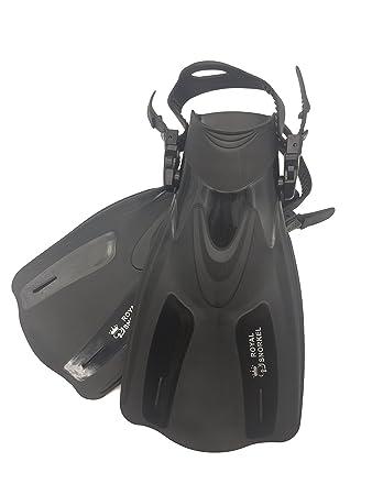 Amazon.com: Adultos corto aletas de viaje para snorkel y ...