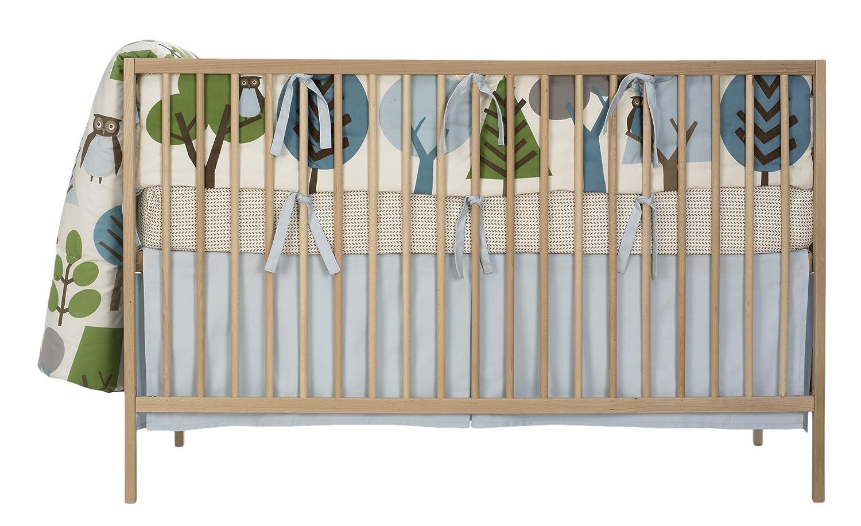 dwellstudio baby dwell studio nursery bedding must have baby gear  - amazoncom dwellstudio crib bumper owls sky dwell studio