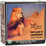 Light Mountain Dark Brown Henna 4 oz.