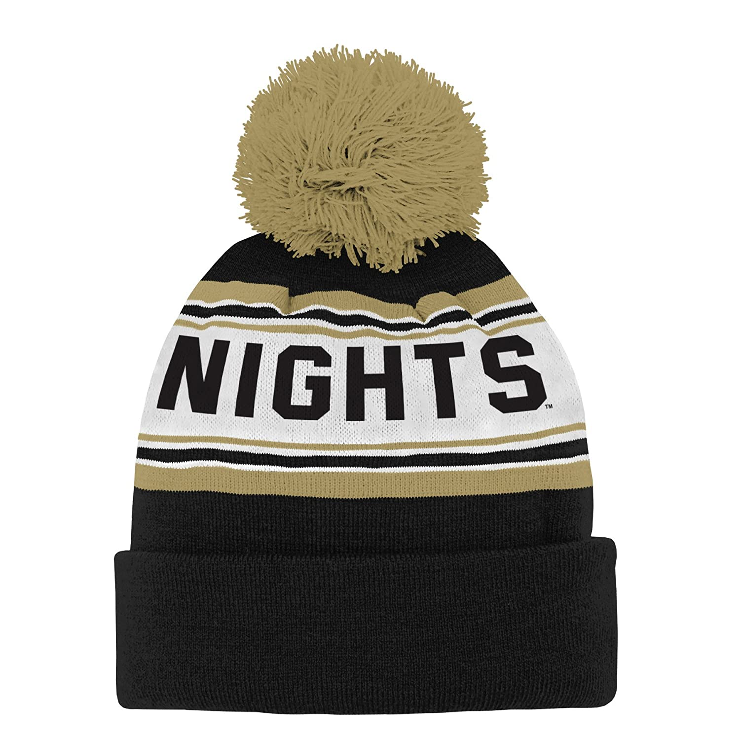 68138a016 Amazon.com   NCAA by Outerstuff NCAA Central Florida Golden Knights Toddler  Jacquard Cuffed Knit Hat w  Pom