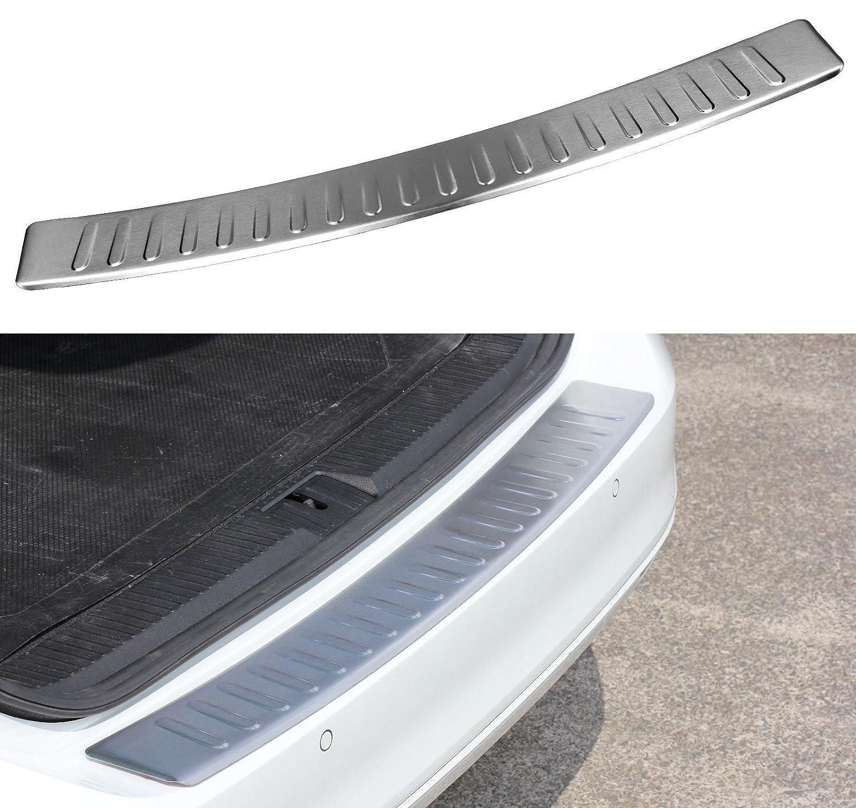 Ladekantenschutz Chrome Edelstahl mit Abkantung für VW Transporter Multivan T5