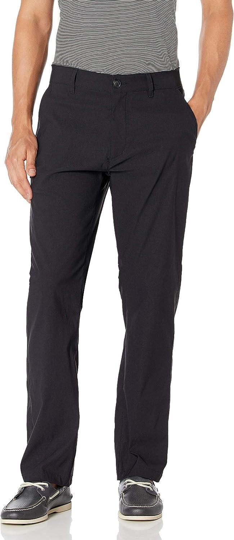 Unionbay Men's Rainier Lightweight Comfort Travel Tech Chino Pants: Clothing