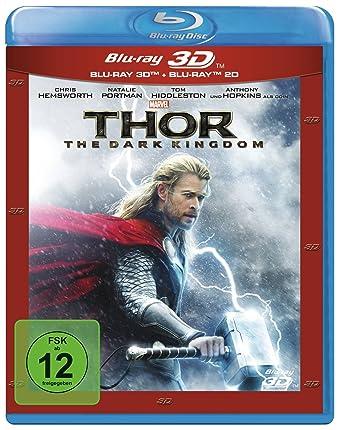 Thor The Dark Kingdom Br Inkl 2d Version 3d Blu Ray Amazonde