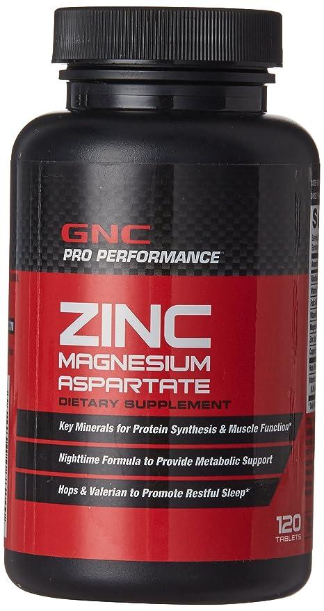 Buy Gnc Zinc Magnesium Aspartate Tablets 120 Count Online At Low
