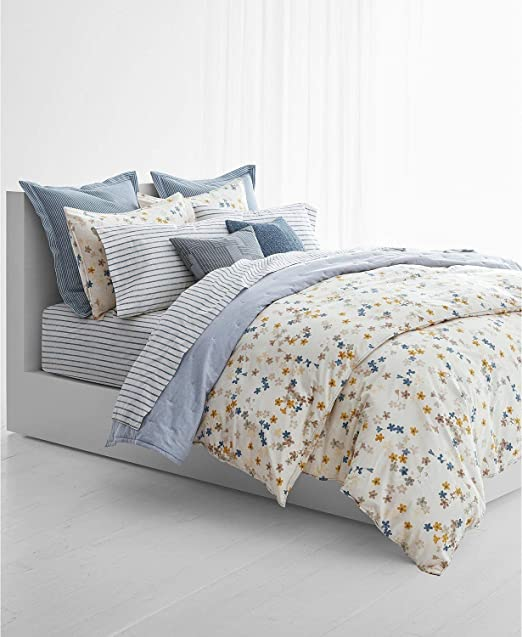 Amazon Com Ralph Lauren Hanah Floral 3 Piece King Duvet Cover Set