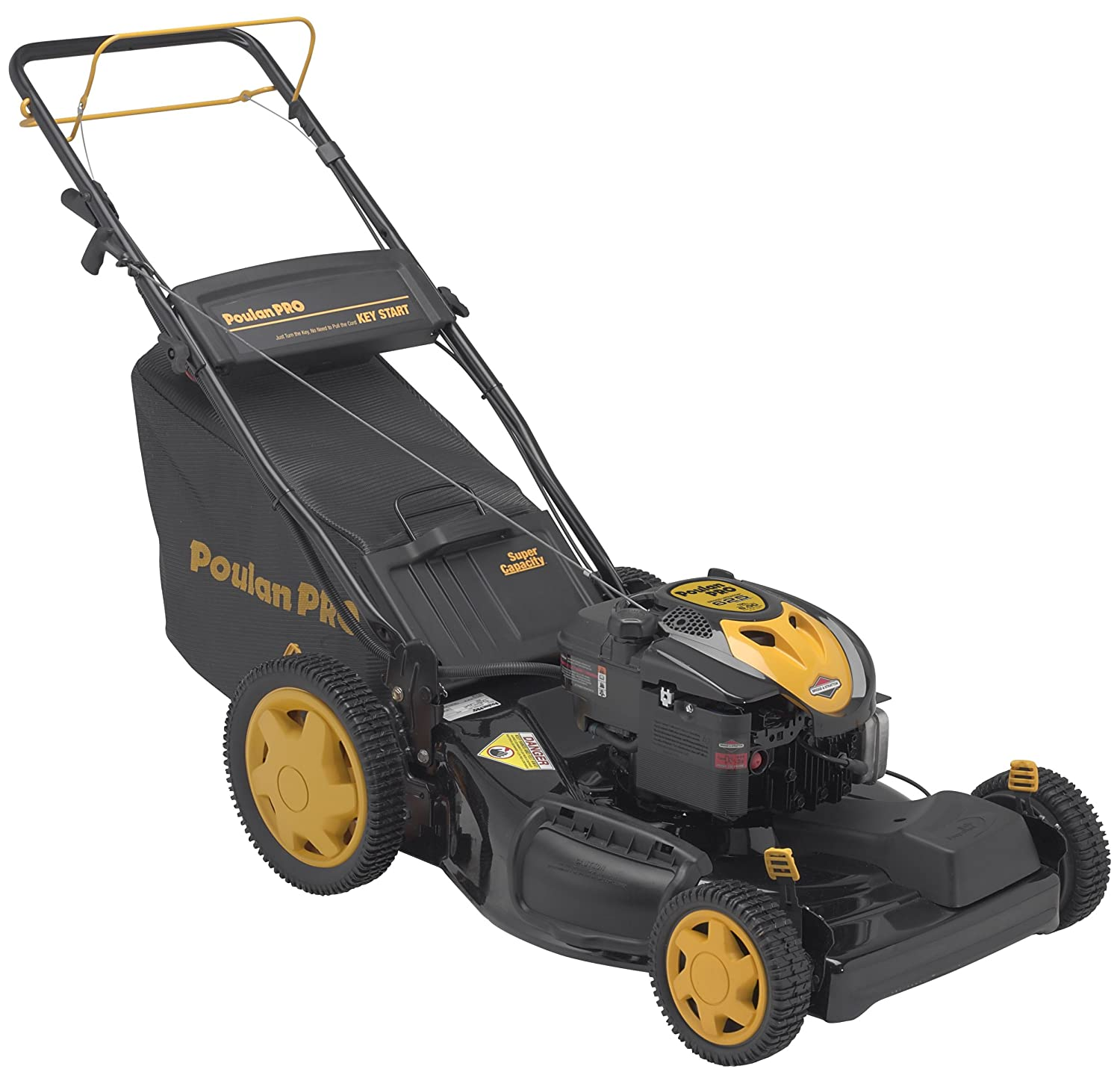 Amazon Poulan Pro Pr625y22rkp 22inch 625 Series Briggs. Amazon Poulan Pro Pr625y22rkp 22inch 625 Series Briggs Stratton Gaspowered Fwd Selfpropelled Lawn Mower With Electric Start And High Rear Wheels. Opel. Poulan Self Propelled Mower Parts Diagram At Scoala.co