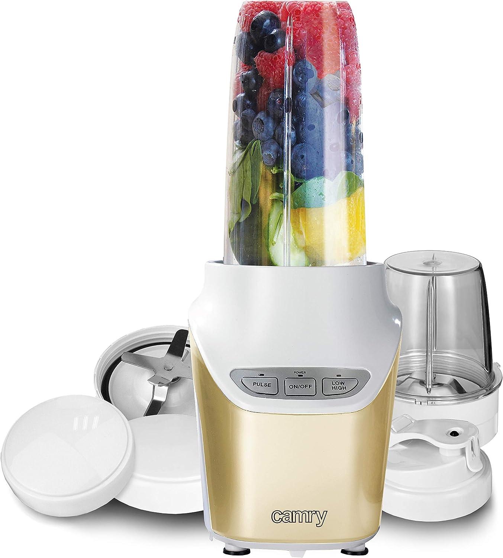 Camry CR4071 Licuadora Portatil de Vaso para Frutas y Verduras ...