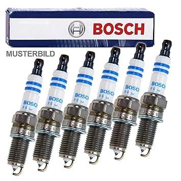 Bosch 6X Original Super Plus FR7LDC+ Sã‰RIE - Bujía para Motor de Barco: Amazon.es: Coche y moto