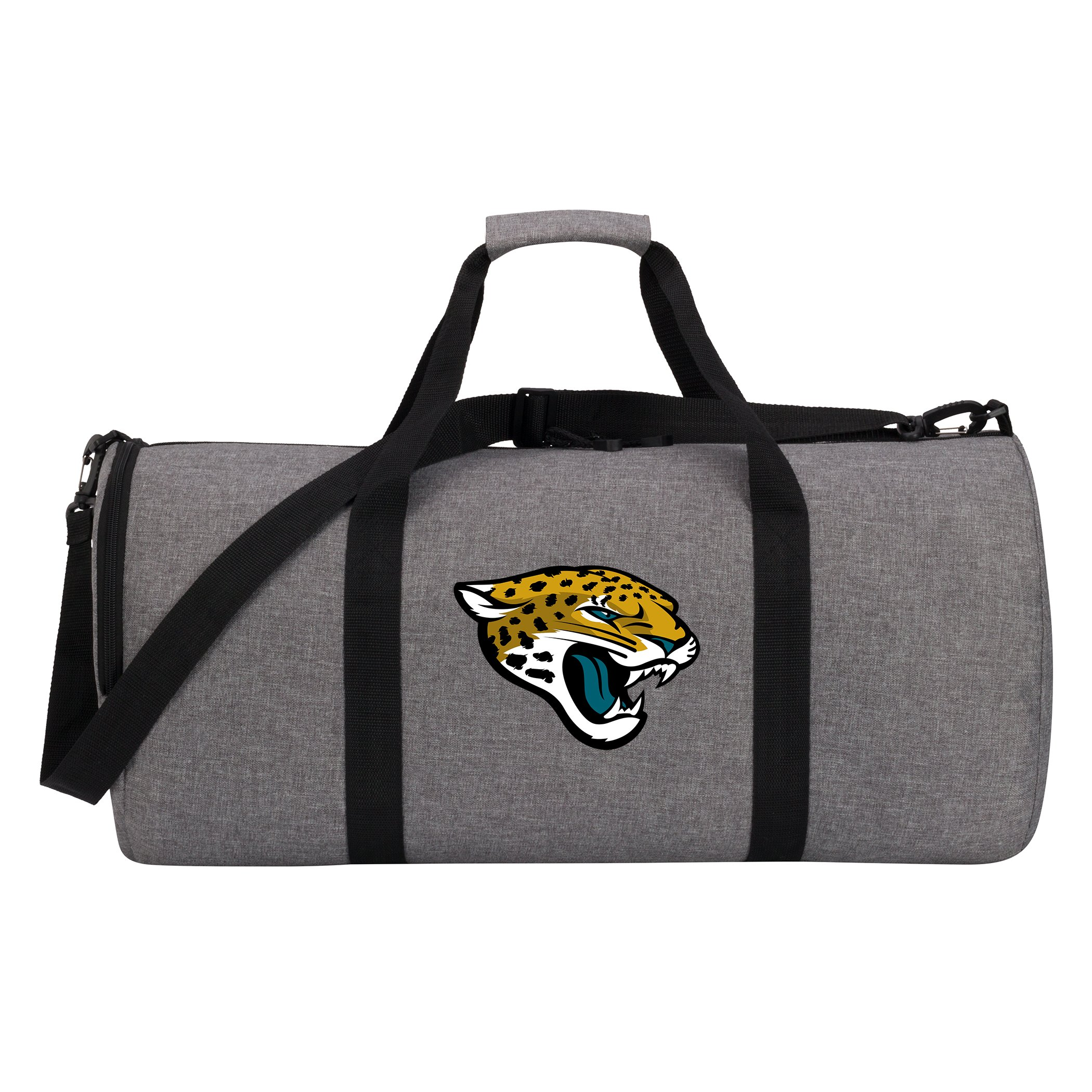 The Northwest Company NFL Jacksonville Jaguars Duffel Bag, One Size, Gray