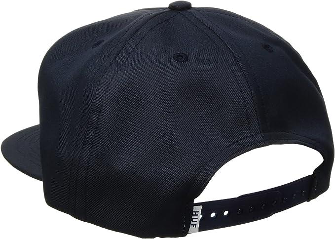 HUF Gorra Stage Snapback de Beisbol (Talla única - Azul Oscuro ...