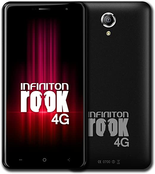 Infiniton Rook - MOVIL 16GB 4G NEGRO: Amazon.es: Electrónica