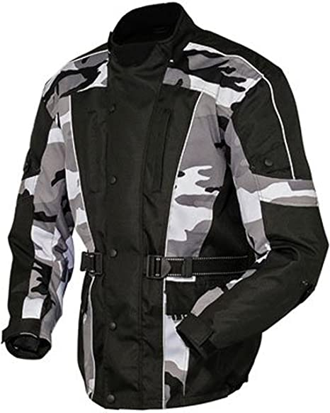 Veste Moto Professionnel Motard Blouson en Cordura Motorcycle Jacket