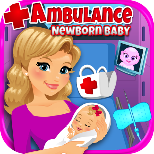 [Ambulance Newborn Baby & Mommy Care] (Fun Dress Up Games For Adults)