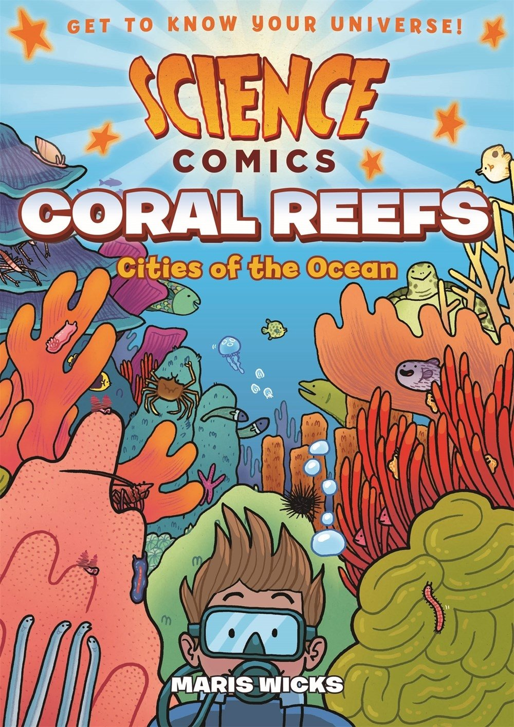 science comics coral reefs cities of the ocean maris wicks