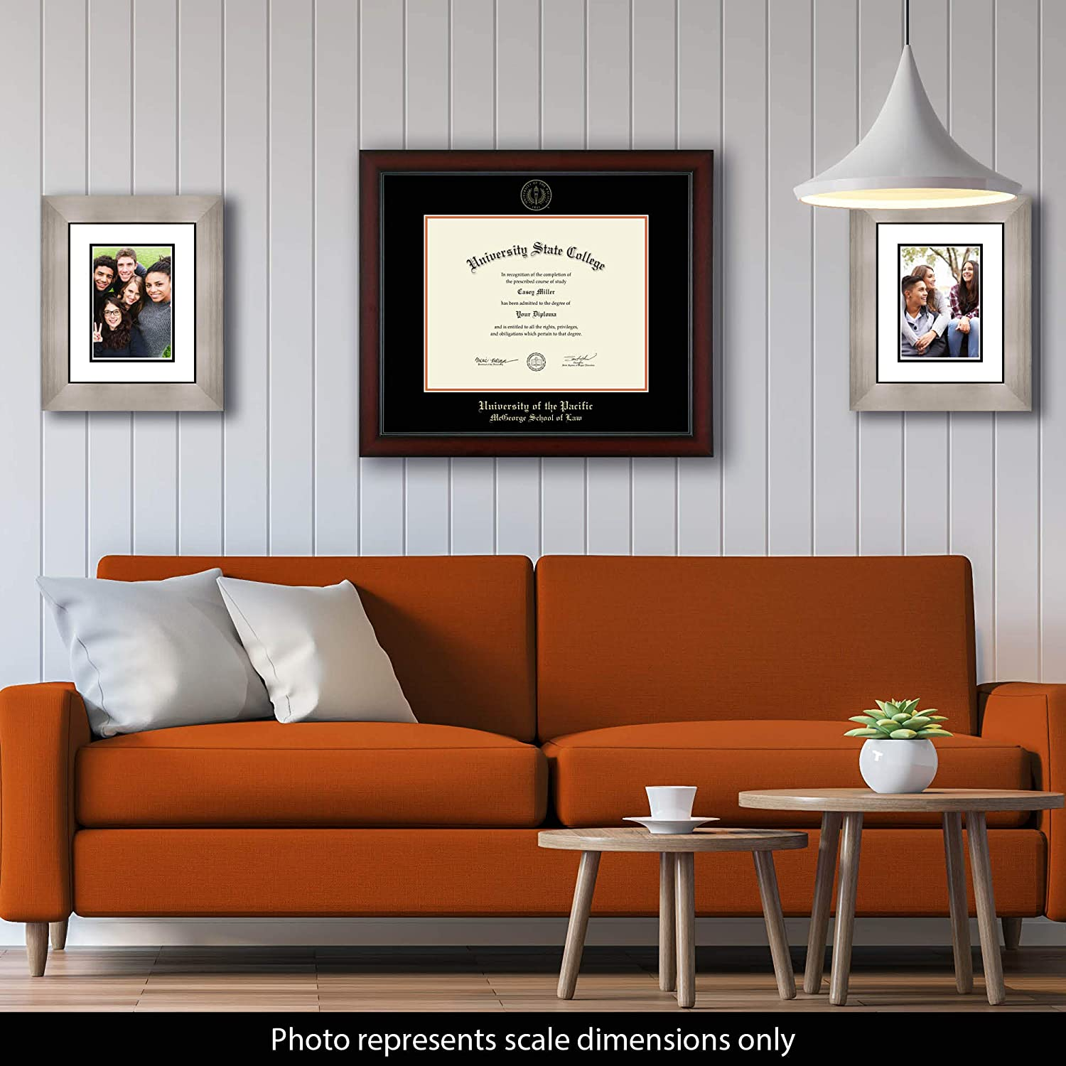 Amazon Com University Of The Pacific Mcgeorge School Of Law Officially Licensed Gold Embossed Diploma Frame Diploma Size 14 X 11