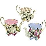 会说话的爱丽丝梦游仙境派对用品,生日派对和婴儿派对用品 多种颜色 Teapots TSALICE-TEAPOTS