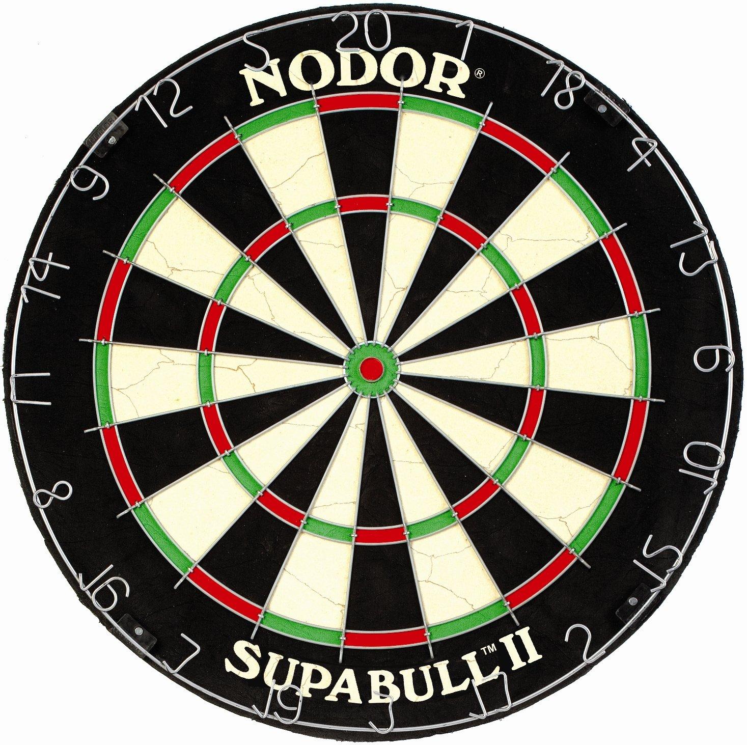 Nodor Supabull II Bristle Dartscheibe
