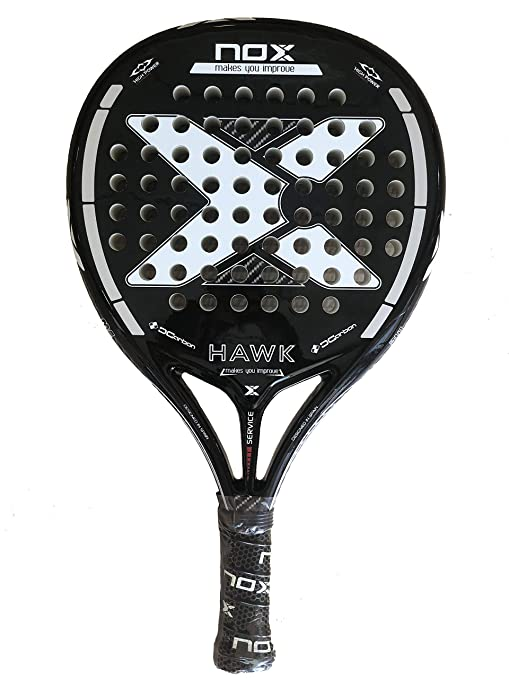 Pala de Padel Nox Hawk Black Edition 2019