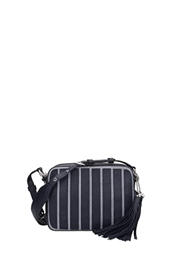 5780ac721f9e Michael Kors Brooklyn Large Leather Applique Camera Bag in Washed Denim:  Handbags: Amazon.com