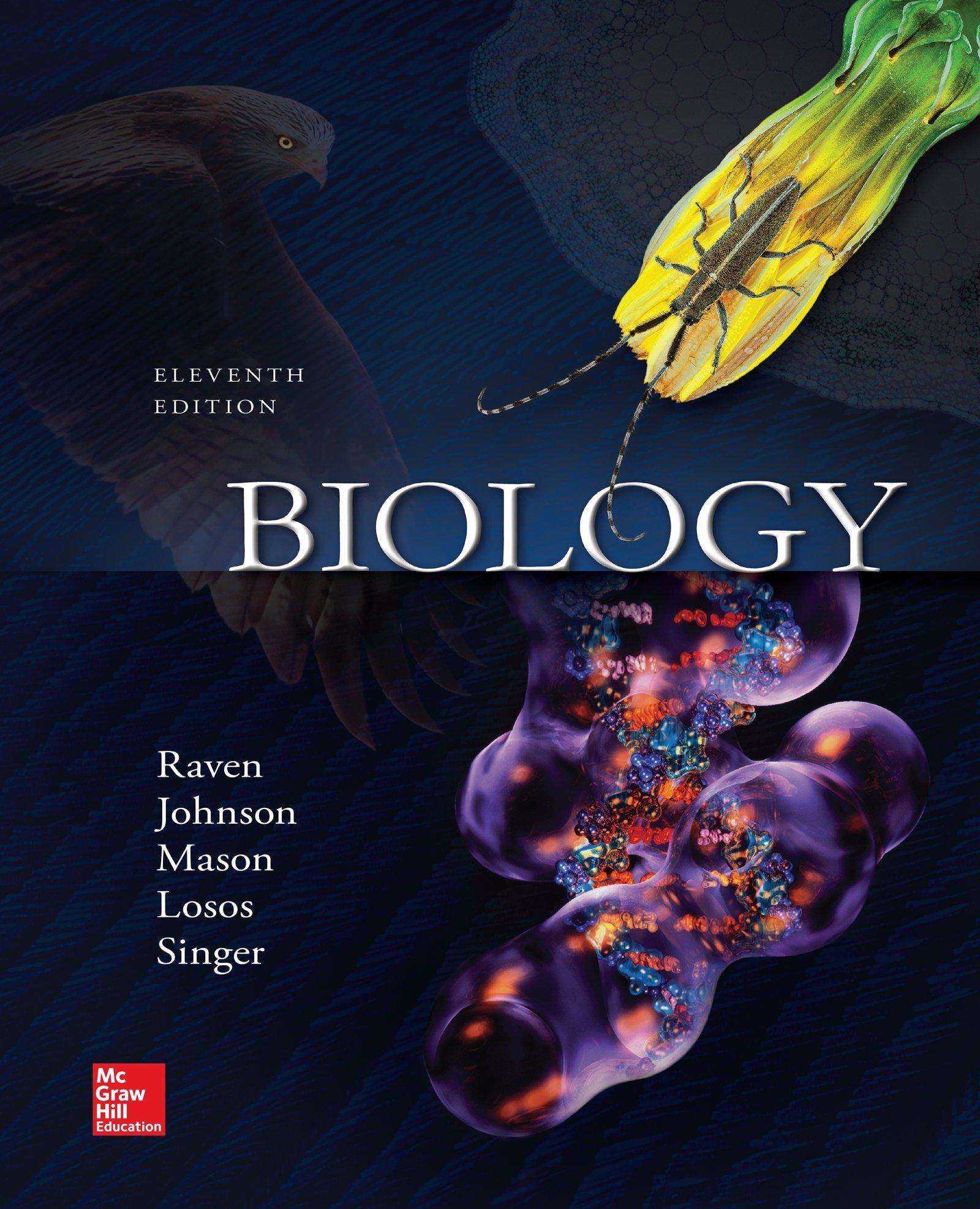 Biology Amazon Co Uk Peter Raven George Johnson Susan Singer