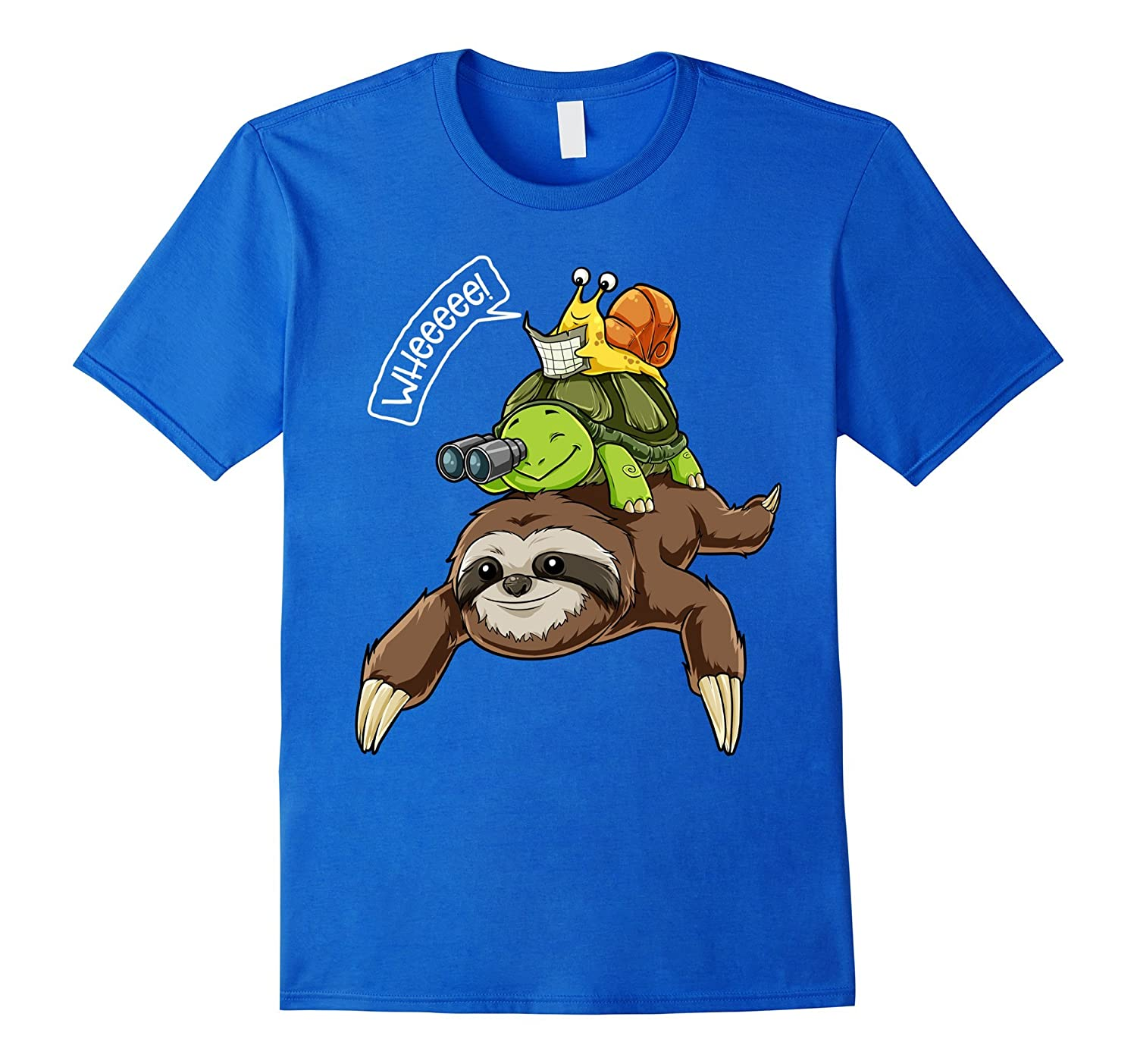 Turtle Snails Ride Sloth Baby Girl 100/% Cotton T-Shirts Toddler
