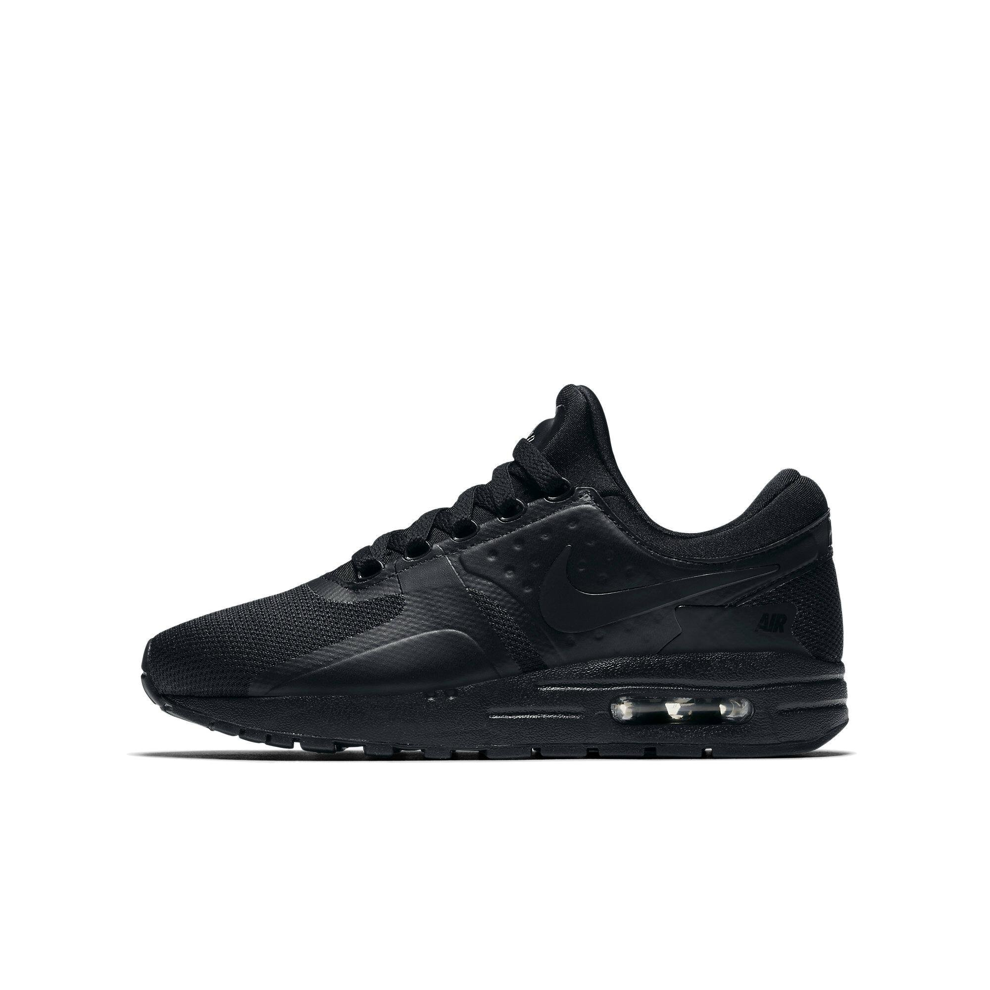 finest selection 2b270 184b6 Galleon - Nike Kids Air Max Zero Essential GS Black Black Black Running Shoe  7 Kids US