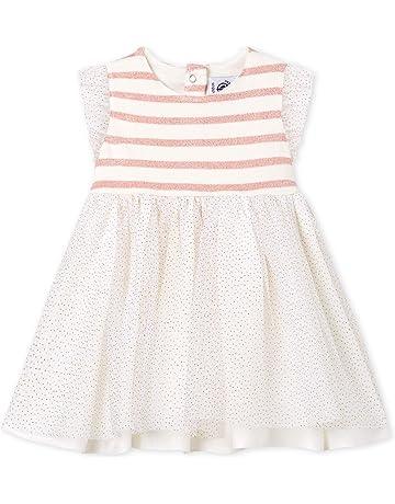 Petit Bateau Vestido Bebé-para Niñas