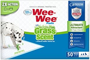 Four Paws Wee-Wee Grass Scented Puppy Pad