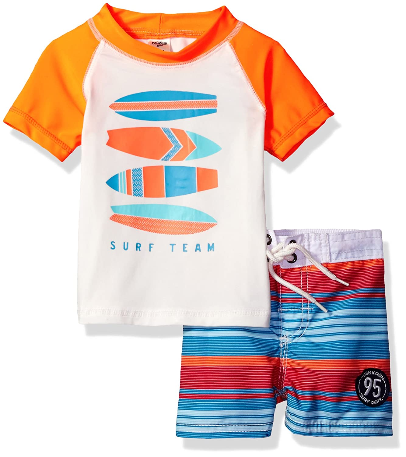 Osh Kosh Baby Boys' Infant Surf Team Rash Guard Set SB117B84
