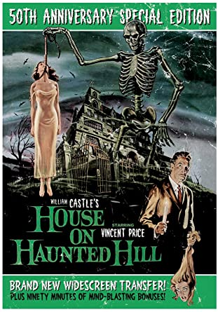 Amazon Com House On Haunted Hill 50th Anniversary Leona Anderson Jr Elisha Cook Carolyn Craig Howard Hoffman Julie Mitchum Carol Ohmart Vincent Price Richard Long Alan Marshal William Castle Rosemary Horvath Movies