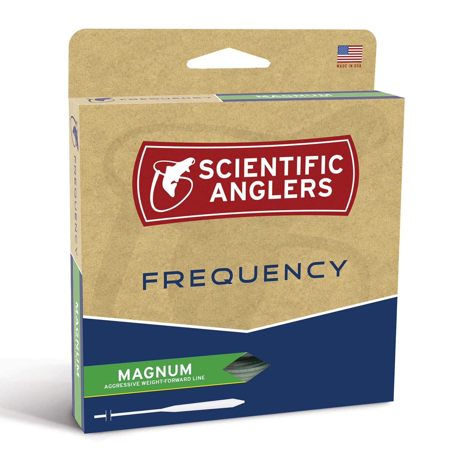 Scientific Anglers Frequency Magnum with Loop, Mist Green, WF- 9-F