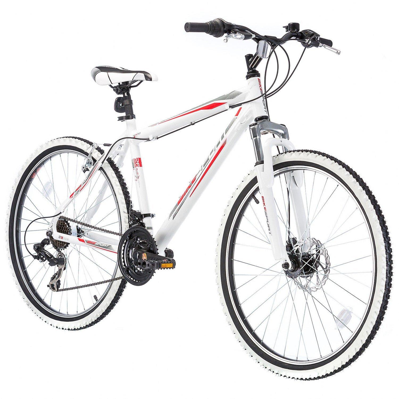 Bikesport Fahrrad Mountainbike MTB Hardtail Herren Fahrrad 26 Zoll ...