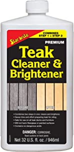 Star brite One Step Teak Cleaner & Brightener 32 ounce