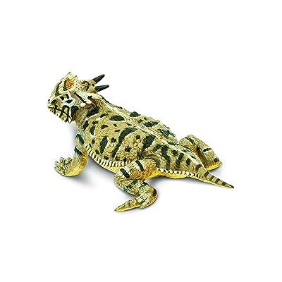 Safari Ltd Incredible Creatures Horned Lizard: Toys & Games