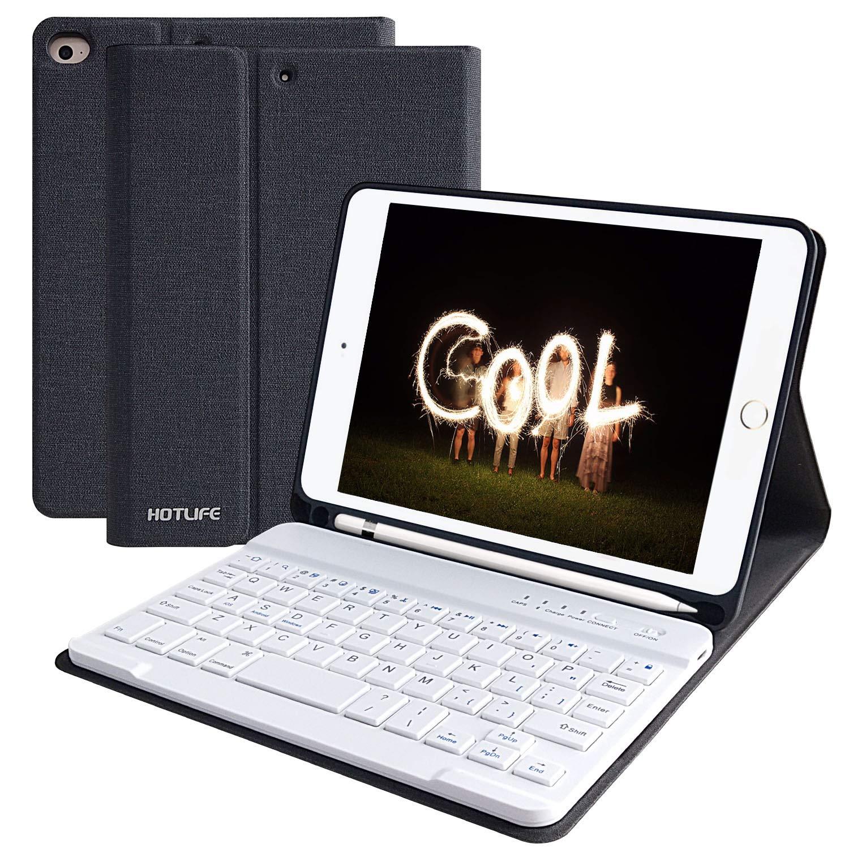 激安通販新作 iPad Mini ミニ ケース キーボード ケース ミニ 第5世代 2019 シェルカバー/ iPad Mini 4 ワイヤレス Bluetooth キーボード用 シェルカバー ペンシルホルダー付き 自動スリープ/起動 iPad Mini 5/ Mini 4 ケース キーボード付き USHT_MBWNZMINI57.9KC ブラック B07PV7LMN3, ガラスshopISHIZUKA:f91cd71c --- a0267596.xsph.ru