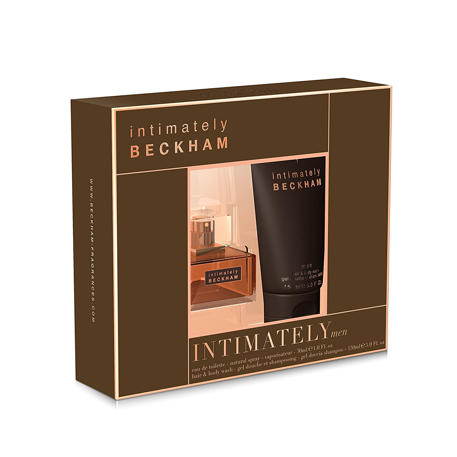 david beckham intimately christmas gift set for men edt 30ml and