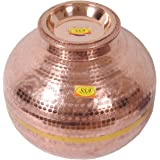 SHIV SHAKTI ARTS Copper Matka Pot, 15L (Brown)