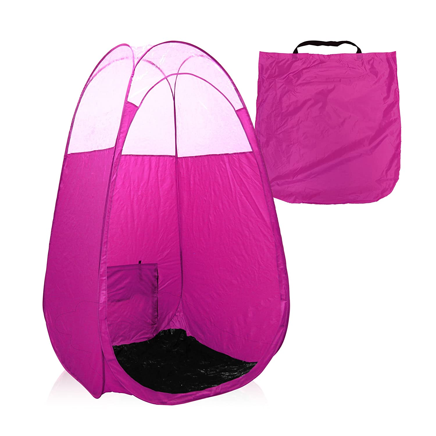 Amazon.com  Black Spray Tan Tent with Carry Bag - Large  After Sun Skin Care Moisturizers  Beauty  sc 1 st  Amazon.com & Amazon.com : Black Spray Tan Tent with Carry Bag - Large : After ...
