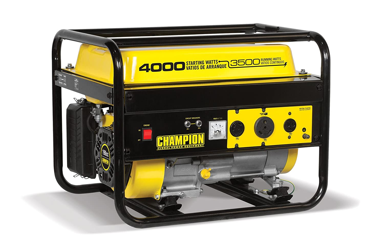 Champion 3500-Watt RV Ready Portable Generator CARB
