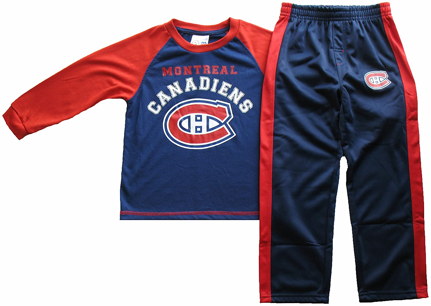 Montreal Canadiens Children's Long Sleeve T-Shirt & Pant Set Mighty Mac