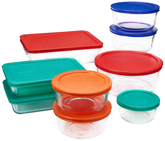 Top 10 Pyrex 15 Cup Glass Food Storage Containers